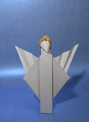 Ange 2017B (Viviane des Papiers) Tags: vivianeberty origami ange angel