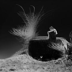 gaze (old&timer) Tags: background infrared composite filtereffect conceptual song4u oldtimer imagery digitalart laszlolocsei