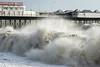 Fancy a quick dip, anyone? (hehaden) Tags: pier palacepier brightonpier sea waves stormy wild beach brighton sussex sel70200g