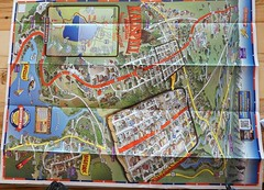 Map of Kalispell we used last year to walk around.. (spelio) Tags: maps mapping cartography mtus