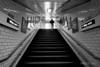 Way Out - Knightsbridge Station (Luke Agbaimoni (last rounds)) Tags: londonunderground london londontube underground tube blackandwhite streetphotography stairs perspective subway