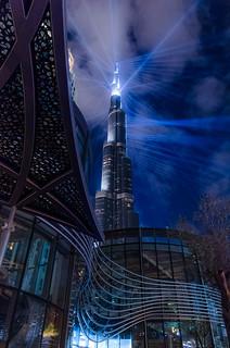 Burj Khalifa and the Dubai opera