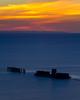 HMAS Cerberus (djryan78) Tags: wreck victoria sunset bay longexposure breakwater dusk hmascerberus melbourne smooth cerberus clouds australia portphillip portphillipbay posts poles water blackrock au