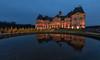 Chateau de Vaux le Vicomte (Didier Ensarguex) Tags: châteaudevauxlevicomte didierensarguex 1635 canon 5dmarkiv heurebleue reflet réflexionreflet ciel illuminationdenoel