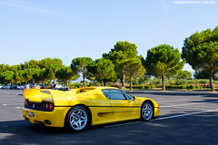 F50 (Gaetan | www.carbonphoto.fr) Tags: ferrari f50 supercars hypercars cars coche auto automotive fast speed exotic luxury great incredible worldcars carbonphoto castellet paul ricard giallo v12 formula