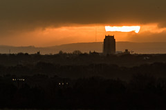 Liverpool Sunset (ianbonnell) Tags: liverpool merseyside liverpoolanglicancathedral cityscape sunset
