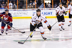 """Kansas City Mavericks vs. Kalamazoo Wings, January 5, 2018, Silverstein Eye Centers Arena, Independence, Missouri.  Photo: © John Howe / Howe Creative Photography, all rights reserved 2018. • <a style=""""font-size:0.8em;"""" href=""""http://www.flickr.com/photos/134016632@N02/25707981328/"""" target=""""_blank"""">View on Flickr</a>"""