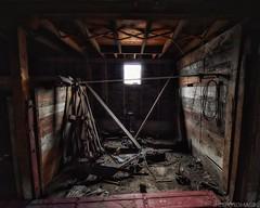 Leftover Parts (revisited) (CTfotomagik) Tags: barn abandoned farm neglected crusty colorado weldcounty nikon wideangle