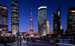 shanghai lights (poludziber1) Tags: street streetphotography skyline summer sky shanghai night city colorful cityscape color colorfull china