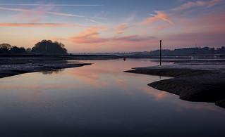Sunrise over the Deben