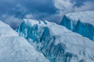 Crevasses near End of Matanuska Glacier