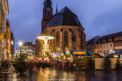 Heidelberg Christmas Market 2017 II (boettcher.photography) Tags: heidelberg germany deutschland badenwürttemberg city stadt weihnachten weihnachtszeit weihnachtsmarkt christmasmarket advent adventszeit abend nacht night evening lights lichter church kirche weihnachtsbaum christmastree buden sashahasha boettcherphotography boettcherphotos