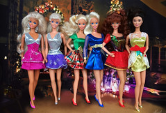 Merry Christmas! (alenamorimo) Tags: barbie barbiedoll dolls barbiecollector holidays christmas