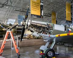 HDR of .@FlyingHeritage Spitfire Merlin