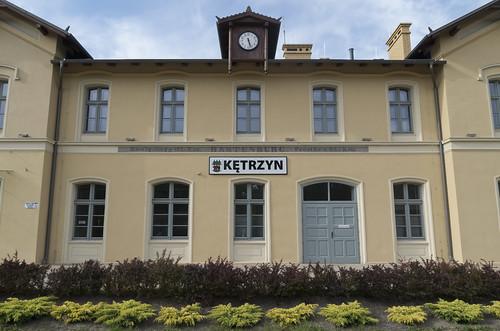 Kętrzyn railway station, 22.06.2017.