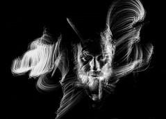Inner. (Alpha Rios) Tags: lightpainting self portrait selfie alpha rios luke joyce light paining fiberoptics fiber optics brushes