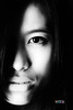 5DII_25425CNESE (davidmccrackenphotography) Tags: beauty beautiful portrait face highkey bw blackandwhite teen girl asian lith lithography model modelling pout purity innocence innocent