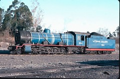 Witbank Colliery (South Africa) - 4-8-2 steam locomotive Nr. 4 (North British Locomotive Works, Glasgow 25903 / 1947) (HISTORICAL RAILWAY IMAGES) Tags: nbl steam locomotive africa witbank colliery northbritishlocomotive