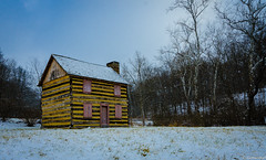 Abandoned Hunting Cabin (charlie_guttendorf) Tags: guttendorf nikon nikon18200mm nikond7000 pittsburgh pittsburghpa uncoveringpa abandonded cain empty ice outdoorphotography outdoors outside vacant winter
