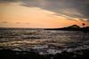 Punalu'u Sunset (wyojones) Tags: hawaii bigisland punaluu punaluubeachcountypark blacksandbeach sunset palmtree silhouette building people