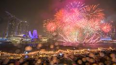 Happy New Year 2018 - Singapore (Kang-Yu Huang) Tags: firework 新加坡 煙火 跨年 2018 nikon photography singapore d810 濱海灣 金沙酒店