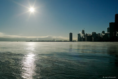 Chicago Jan 2018 @ 17F (dpsager) Tags: chicago dpsagerphotograph illinois lakemichigan lakefront northavenue winter