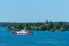 Canada Police Boat (kevnkc2) Tags: stdntsdoncooper lightroom clayton stlawrenceriver september trip vacation nikon d610 2485mm newyork 1000islands