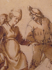 OSTADE Isaac - Fête Paysanne (drawing, dessin, disegno-Custodia) - Detail -zi (L'art au présent) Tags: art painter peintre details détail détails detalles painting paintings peintures peinture17e 17thcenturypaintings peinturehollandaise dutchpaintings dutchpainters peintreshollandais tableaux paris fondation foundation france holland hollande animal animaux animals figures personnes man men hommes femme women woman female jeunefemme youngwoman boy littleboy garçon enfant kid kids child children peasantfair party feast paysan dog pet chien isaack