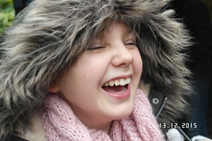 Giggles (Isabel Emily May) Tags: child children sister sibling laugh giggle smile happy joy winter outdoor