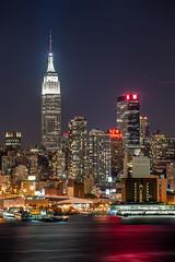 Big City (tozaw) Tags: d700 nikon city skyscraper skyline lights empirestatebuilding night manhattan newyork