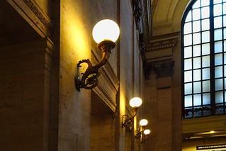 Chicago Union Station Lights