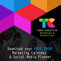 Download your FREE 2018 Marketing Calendar & Social Media Planner (tobycreative) Tags: tobycreative marketing marketingresources freetemplates socialmedia planning calendar strategy