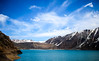 Embalse El Yeso (Friendly Photos) Tags: chile rm region metropolitana cajondelmaipu embalse el yeso mountains mountain lake resevoir blue sky clouds snow capped peaks nature getoutside outdoors travel travelphotos travelphotography