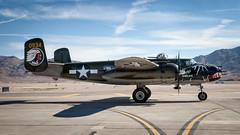 "Texas Flying Legends B-25J Mitchell ""Betty's Dream"" (hotdog.aviation) Tags: b25 b25jmitchell betty'sdream b25mitchell aviationnation2017 texasflyinglegends"