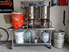 Just upped our homebrew game. Thanks, Craigslist. (broox) Tags: 2737 homebrew