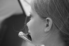 Grace (aniawagner) Tags: monochrome black white blackandwhite whiteandblack nikon nikond7100 music musician flute flöte musiker musik kind child girl schwarz weis schwarzweis
