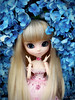 Happy Birthday, Sofia!! (♪Bell♫) Tags: pullip romantic alice pink sofia rosemberg hortênsias blue flores groove doll