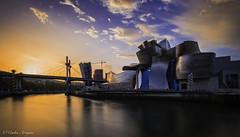 DSCF4342 Bilbao 15102017 (Carles A) Tags: 2017 sortidadesol aleix amics anochecer arquitectura barques bilbao bosc braketing cadenes contrallums fageda llargaexposicio museu natura nocturnes ombres paisvasc paisatge pont postadesol reflexes retrat ria riu tardor tardor2017