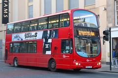NK05 GZO, Newgate Street, Newcastle, April 4th 2017 (Southsea_Matt) Tags: nk05gzo 3941 route10a wright eclipse gemini volvo b7tl goaheadnortheast newgatestreet newcastleupontyne tynewear unitedkingdom april 2017 spring canon 80d sigma 1850mm bus omnibus passengertravel publictransport vehicle