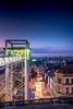 Brussels By Night III (Alec Lux) Tags: architecture belgium bluehour bridge brussel brussels building city cityscape elevator lights longexposure nighshot night nightscape roofs rooftops skyline street urban brusselshoofdstedelijkgewest be