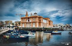 Bari-Teatro margherita (baridue) Tags: teatromargherita bari weareinpuglia weareinbari amobari sky sea