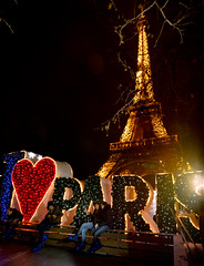 Eiffel Tower - Christmas Village (Thierry Lejuez) Tags: 2017 maman noel papa