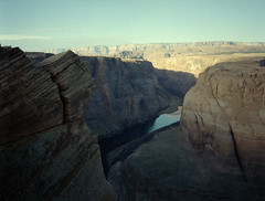 Horseshoe Bend, Page, AZ (Mason Shefa) Tags: mason shefa color film kodak portra 400 fuji gs645s canoscan page arizona horseshoe bend 645 medium format negative desert