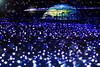 The Earth (Tomo M) Tags: christmas illlumination theuniverse tokyo roppongi nightview winter blue lights bokeh