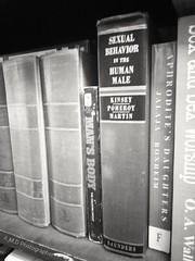 The Smell of Old Books (PhotoJester40) Tags: indoors inside bookshelf books bnw blackandwhite noirblanc bw blackwhite old sexual amdphotographer
