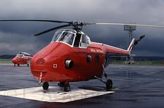 WHIRLWIND  XJ727 (TF102A) Tags: kodachrome raf rafshawbury westland whirlwind helicopter xj727