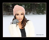 Winter Fashion Snowing (Peter Camyre) Tags: peter camyre photography female model beautiful outdoor winter fashion cold snow snowing hat coat pretty face portrait girl lady modeling pose posing