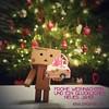 frohe Weihnachten! (bauingenieuse) Tags: danbo christmas weihnachten weihnachtsbaum 2017 bokeh handyfoto sony xperia weihnachtskarte love geschenk present danboproject bauingenieuse bunt