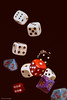 Rollin' the Dice (thubakabra) Tags: thubakabra macro mondays macromondays redux2017myfavoritethemeoftheyear dice dices shortexpo lowkey blackbackground game gaming grambling play playing sigma sigma1750mm28 sigmalens canon falling fallingparts