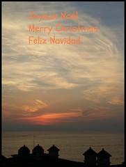 For you<>Pour vous. (France-♥) Tags: sunset coucherdesoleil water puertovallarta mexique sky ciel nuage clouds 1817 bahíadebanderas mexico baie